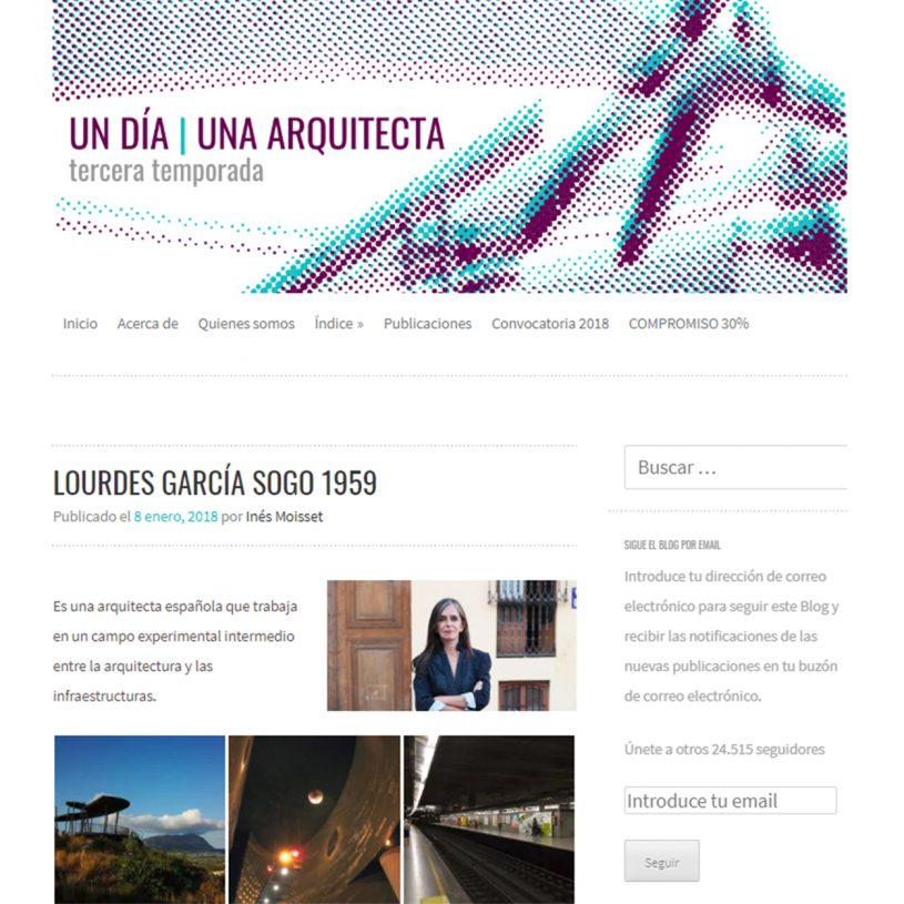IDD201804 – Un día, una arquitecta
