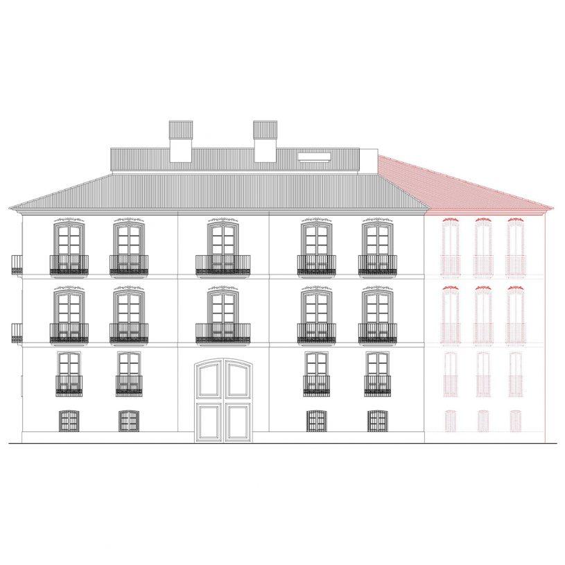 P199503 – Edificio de viviendas Juristas