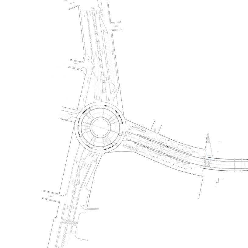 P199834 – Rotonda y acceso al puente de Santa María