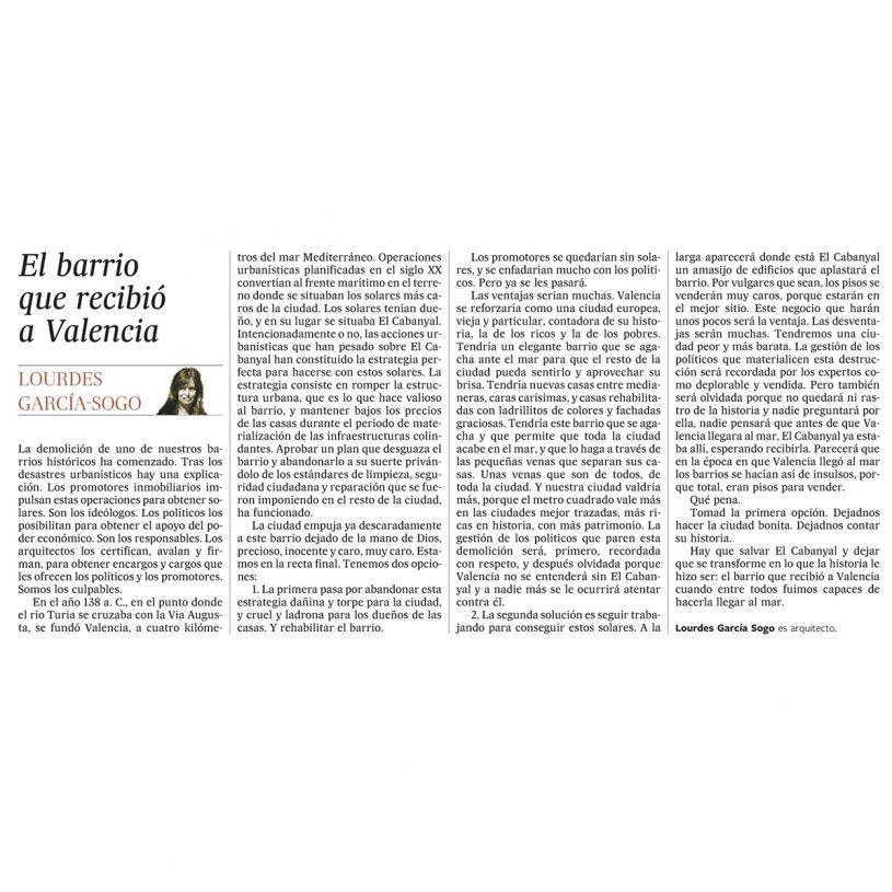 IDD201005 – Artículo en el periódico El País
